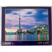Sure Lox Toronto Canada City Scapes 500 Piece Jigsaw Puzzle