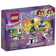 LEGO Friends 41128 Amusement Park Space Ride Building Kit (195 Piece)