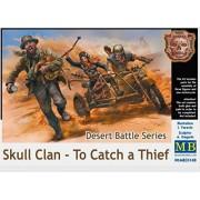 Master Box Ltd mb35140 - Personaggi Desert Battle Series, Skull Clan per to catch a Thief