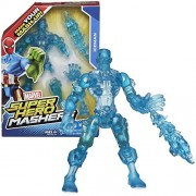 Hasbro Year 2014 Marvel Super Hero Mashers Series 6 Inch Tall Action Figure - ICEMAN with Detachable Hands and Legs Plus Ice Blast by Hasbro