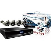 KGuard 8 Channel Easy Link Series + 4 Cameras