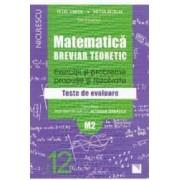 Matematica cls 12 M2 Breviar teoretic ed.2016 - Petre Simion Victor Nicolae