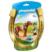 PLAYMOBIL Groomer with Butterfly Pony Playset