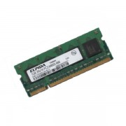 RAM PC Portable SODIMM EBE21UE8ACUA-8G-E DDR2 800Mhz 2Go PC2-6400S CL6