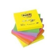 3m Cube Post-It, Notes Adh Sives, 76 X 76 Mm, 6 Couleurs