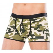 Andalea Military Zipper Boxer Brief Underwear MC-9085