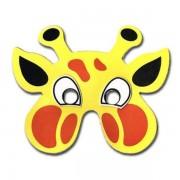 Giraffe Childrens Foam Animal Mask