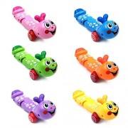 XDOBO Cute Caterpillar Developmental Intelligence Learning Wind-up Toy Set of 3