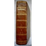 Dictionnaire Du Notariat Précédé D'un Recueil Des Édits Lois Etc.. Tome Troisième Troisième Édition Relié ( 1832 )