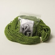100 Pack Snake Bite String 100% Polyester Yo Yo Strings In Snake Skin Split Lime