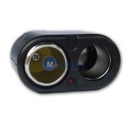 Adaptor auto Universal cu 2 iesiri bricheta
