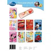 Disney - 11251 - Ameublement et Décoration - Plaid Polaire Motifs Personnages x1 - 9 Imprimes - 100x150 cm - Modèle aléatoire
