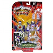 Power Rangers Jungle Fury Battlized Beast Morphin Wolf Ranger Action Figure