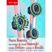Nueva bisuteria con cuentas de cristal Swarovski, cuentas Delicas y cuentas de Rocalla / New Swarovski Crystal Beaded Jewelry, Delicas and Rocalla Beads by Ingrid Moras