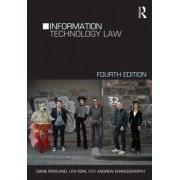 Information Technology Law by Diane Rowland