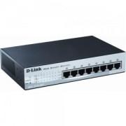D-Link 8-port 10/100 Smart PoE Switch - DES-1210-08P