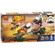 Star Wars-Space Fights Rebels 252pcs. Bouw je eigen ruimteschepen met deze bouwstenen, gelijkaardig aan Lego.