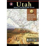 Benchmark Utah Road & Recreation Atlas by National Geographic Maps