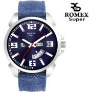 Romex Super Smile Day N Date Analog Dial Men Watch-Dd-222Dnmbu