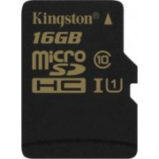 Card memorie Kingston microSDHC 16GB Clasa 10 UHS-I