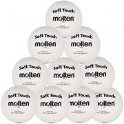molten Volleyballpaket (10 Stück) VP5 (weiß) - 5