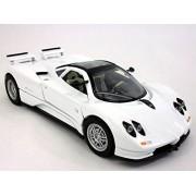 Pagani Zonda 1/24 Scale Diecast Metal Model White