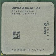 Processeur - 1 x AMD Athlon 64 3400+ / 2.2 GHz - Socket 939 - L2 512 Ko