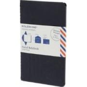 Moleskine Postal Notebook - Pocket Indigo Blue by Moleskine
