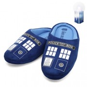 Doctor Who Tardis House Slippers