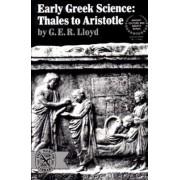Early Greek Science by G. E. R. Lloyd