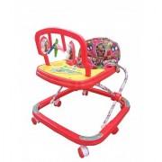 Ehomekart Red Classic Adjustable Musical Walker for Kids