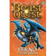 Ferno the Fire Dragon by Adam Blade