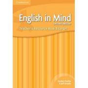 English in Mind Starter Level Teacher's Resource Book by Brian Hart