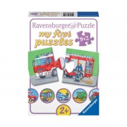 Puzzle vehicule motorizate 9x2 piese