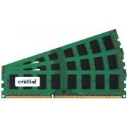 Crucial CT3KIT12864BA160B 3GB (3x 1GB) Scheda di memoria