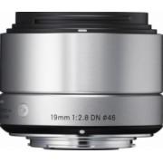Obiectiv Foto Sigma 19mm f2.8 DN SONY-E Argintiu