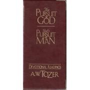 The Pursuit of God / God's Pursuit of Man Devotional by A W Tozer