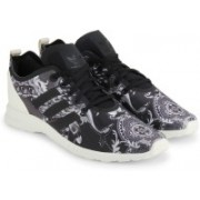 Adidas Originals ZX FLUX ADV SMOOTH W Sneakers(Black)