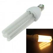 En forma de 4U E27 24W LED de la lampara del maiz blanco calido 3000K 2800lm 96-SMD - Blanco