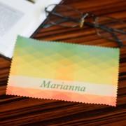 Szemüvegtörlő kendő, színes, 10x15cm