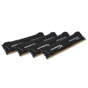 DDR4, KIT 64GB, 4x16GB, 2400MHz, KINGSTON HyperX Savage, CL14 (HX424C14SBK4/64)