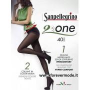 San Pellegrino 2 Collant donna Sanpellegrino 40den con guaina modellante