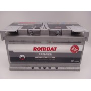 Baterie auto Rombat Premier 12V 80Ah LB4 Ford, Opel
