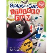 Splat the Cat: Sticker Fun by Rob Scotton
