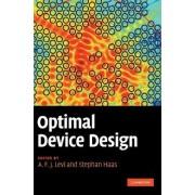 Optimal Device Design by A. F. J. Levi