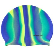 ABSTRACT Plavecká čepice silikonová modro-zelená Spokey