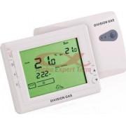 Termostat ambiental programabil wireless (fara fir) seria DGS908-RF