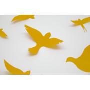 3D Sárga madarak csomag