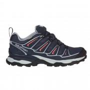 Salomon X Ultra 2 GTX Damen Gr. 3½ - schwarz / grey denim/blue/melon bloom - Sportliche Hikingschuhe