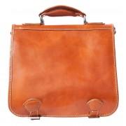 Florence Leather Market Borsa da lavoro con due compartimenti interni (7608)